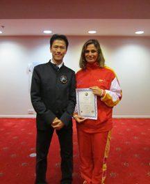 Juez Internacional WuShu – Almudena de las Heras