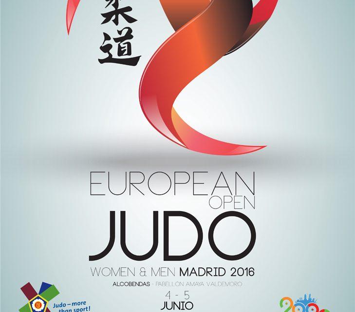 European Judo Open Madrid 2016