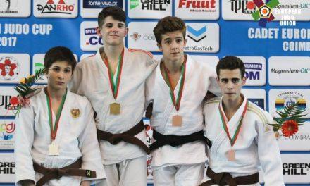 6 medallas en la primera jornada de la Copa de Europa Cadete en Coimbra