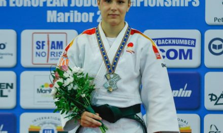Laura Martínez, medalla de plata en Maribor