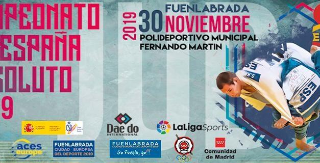 Campeonato de España de Judo Absoluto 2019