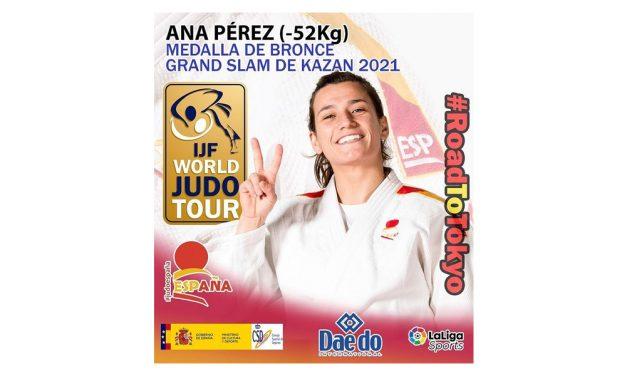 Ana Pérez, medalla de BRONCE en el Grand Slam de Kazan 2021