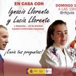 Próximo directo En Casa con Ignacio Llorente y Lucía LLorente