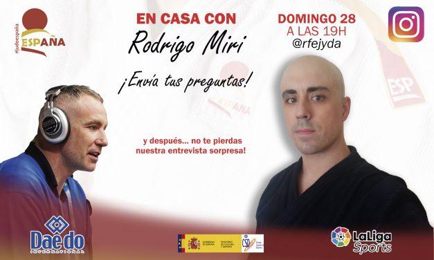 Próximo directo En Casa con Rodrigo Miri
