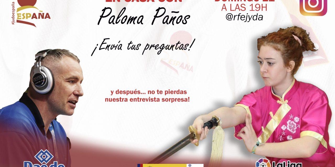 Próximo directo En Casa con Paloma Paños