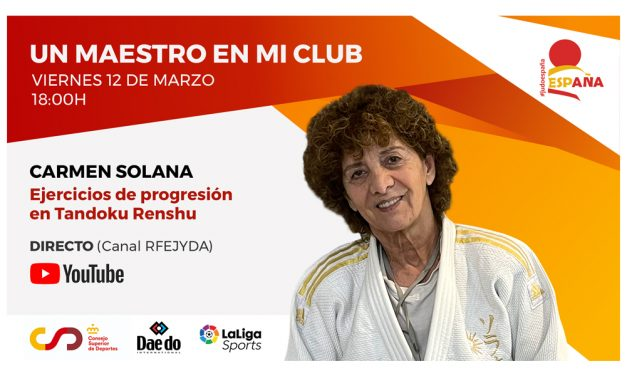 Un Maestro en mi Club – Carmen Solana