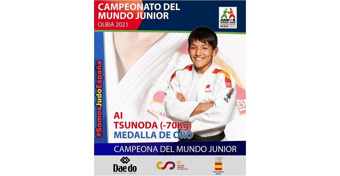 Ai Tsunoda, campeona del Mundo Junior 2021
