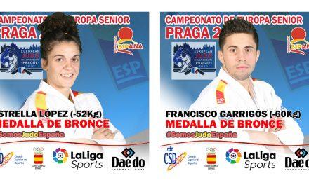 Fran Garrigós y Estrella López, BRONCE en el Campeonato de Europa Absoluto, Praga 2020