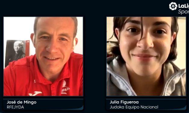 Entrevista a Julia Figueroa en LaLigaSportsTV.com