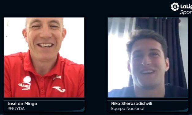 Entrevista a Niko Sherazadishvili en LaLigaSportsTV.com