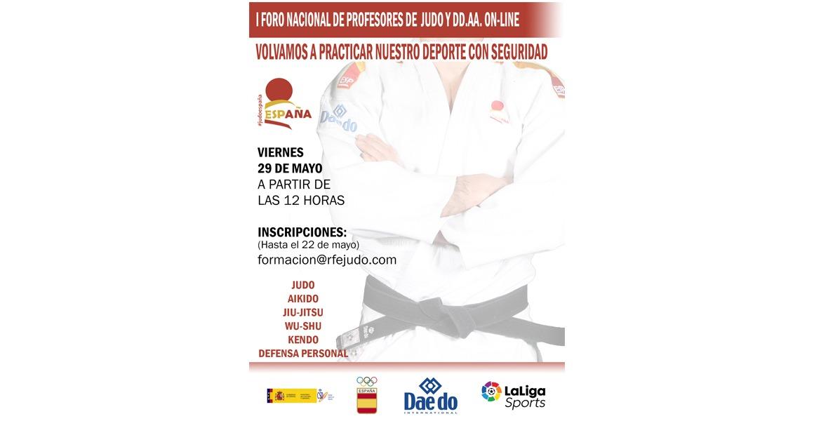 Inscripción I Foro Nacional de Profesores de Judo y DD. AA.