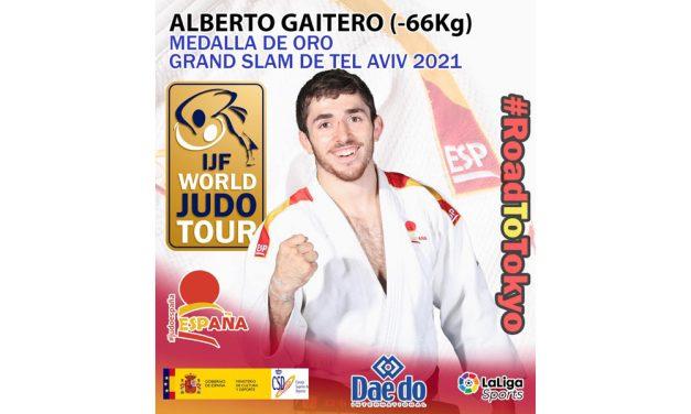 Alberto Gaitero, MEDALLA DE ORO EN EL GRAND SLAM DE TEL AVIV 2021