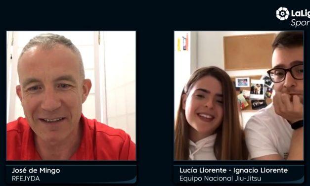 Entrevista a Lucía Llorente e Ignacio Llorente en LaLigaSportsTV.com
