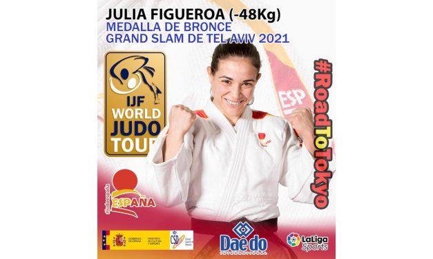 Julia Figueroa, medalla de BRONCE en el Grand Slam de Tel Aviv 2021