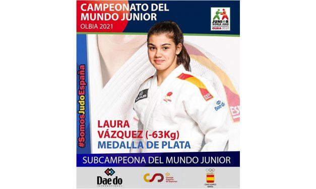 Laura Vázquez, Subcampeona del Mundo Junior 2021