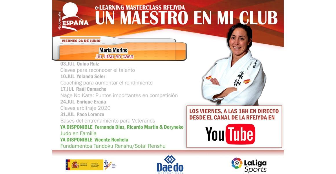 Un Maestro en mi Club – María Merino