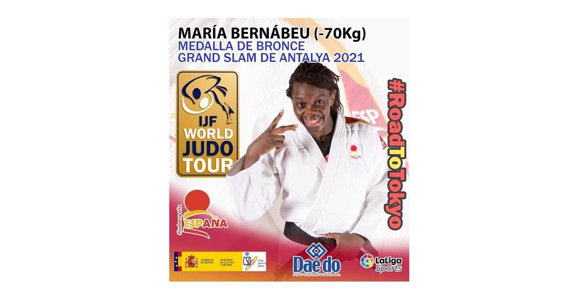 María Bernabéu, medalla de BRONCE en el Grand Slam de Antalya 2021