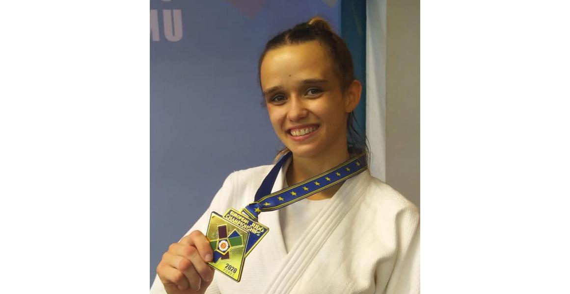 Nina Esteo, campeona de Europa Sub23