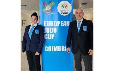 Beatriz Portela y Miguel Piñeiro, Árbitros Continentales