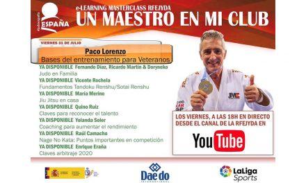 Un Maestro en mi Club – Paco Lorenzo