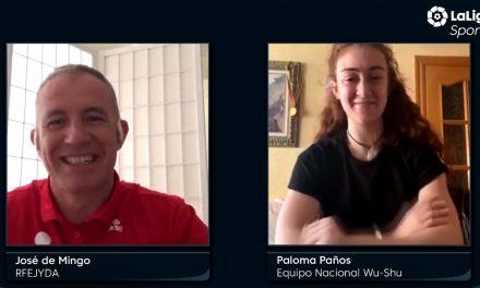 Entrevista a Paloma Paños en LaLigaSportsTV.com