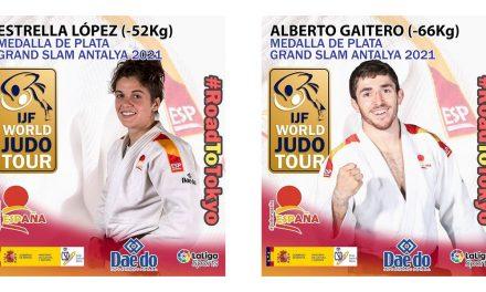 Medalla de PLATA para Estrella López y Alberto gaitero en el grand slam de antalya 2021