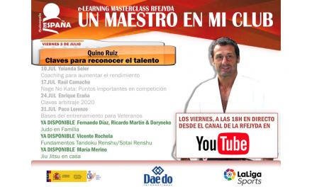 Un Maestro en mi Club – Quino Ruiz