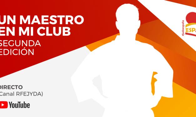 """La RFEJYDA lanza la segunda edición de """"Un Maestro en mi CLUB"""""""