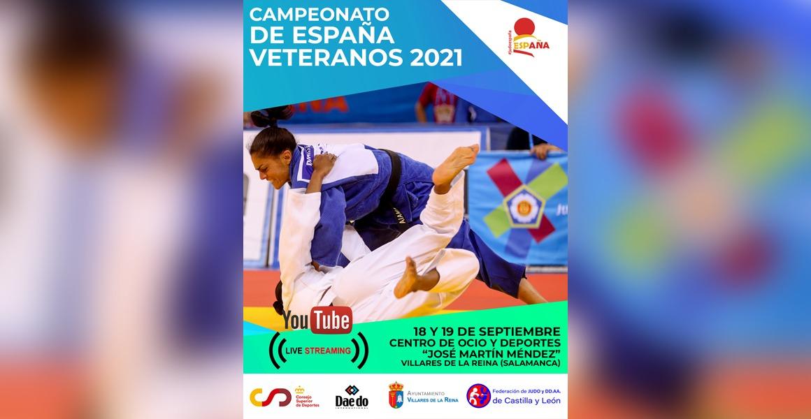 Campeonato de España de Judo Veteranos 2021