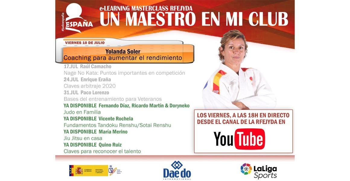 Un Maestro en mi Club – Yolanda Soler